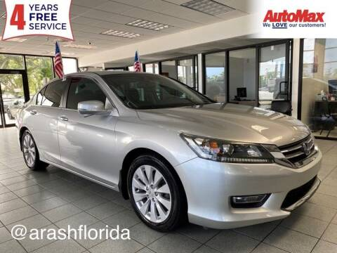 2013 Honda Accord for sale at Auto Max in Hollywood FL