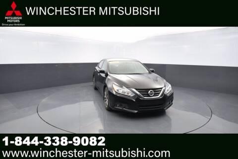 2016 Nissan Altima for sale at Winchester Mitsubishi in Winchester VA