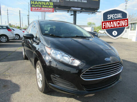 2018 Ford Fiesta for sale at Hanna's Auto Sales in Indianapolis IN