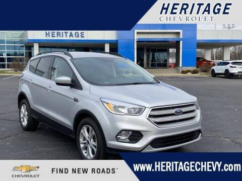 2018 Ford Escape for sale at HERITAGE CHEVROLET INC in Creek MI