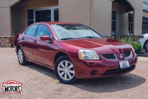 2006 Mitsubishi Galant for sale at Mcandrew Motors in Arlington TX