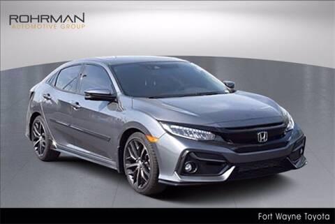 2020 Honda Civic for sale at BOB ROHRMAN FORT WAYNE TOYOTA in Fort Wayne IN