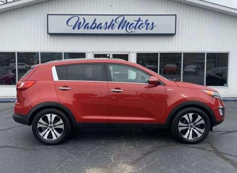2011 Kia Sportage for sale at Wabash Motors in Terre Haute IN