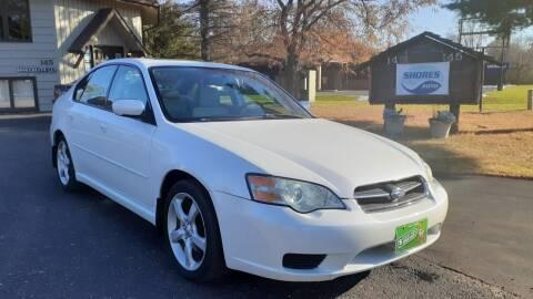 2006 Subaru Legacy for sale at Shores Auto in Lakeland Shores MN