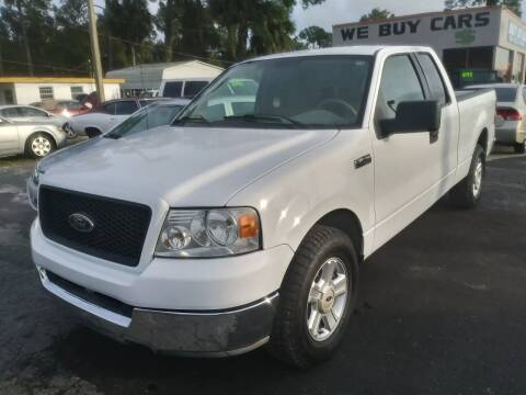 2004 Ford F-150 for sale at QUALITY AUTO SALES OF FLORIDA in New Port Richey FL