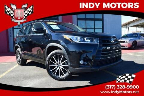 2017 Toyota Highlander for sale at Indy Motors Inc in Indianapolis IN