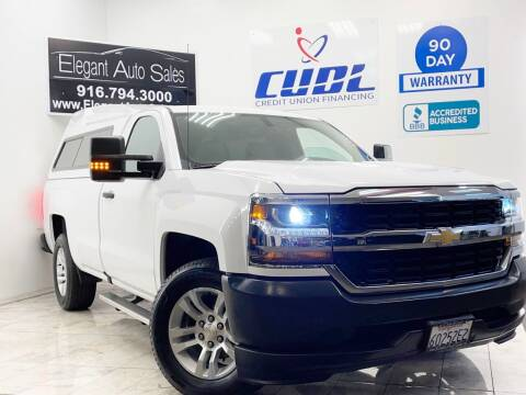 2016 Chevrolet Silverado 1500 for sale at Elegant Auto Sales in Rancho Cordova CA