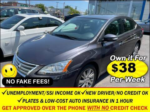 2014 Nissan Sentra for sale at AUTOFYND in Elmont NY