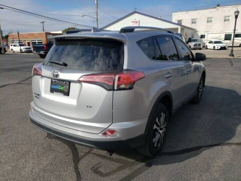 2018 Toyota RAV4 for sale at LeMond's Chevrolet Chrysler in Fairfield IL