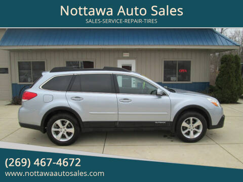 2013 Subaru Outback for sale at Nottawa Auto Sales in Nottawa MI