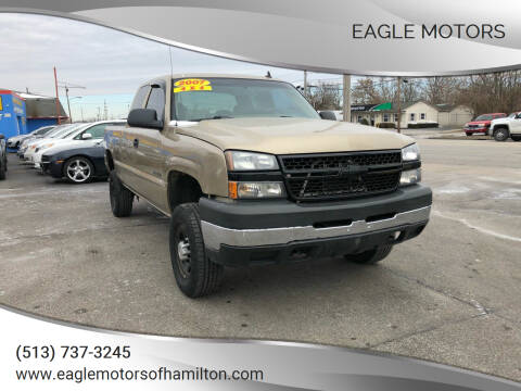 2007 Chevrolet Silverado 2500HD Classic for sale at Eagle Motors in Hamilton OH