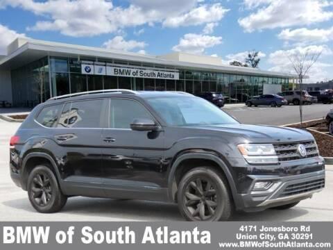 2018 Volkswagen Atlas for sale at Carol Benner @ BMW of South Atlanta in Union City GA
