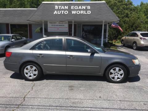 2010 Hyundai Sonata for sale at STAN EGAN'S AUTO WORLD, INC. in Greer SC