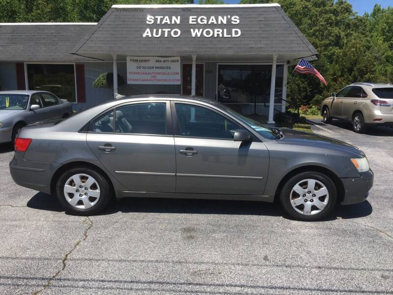 2010 Hyundai Sonata for sale at STAN EGAN'S AUTO WORLD, INC. in Greer SC