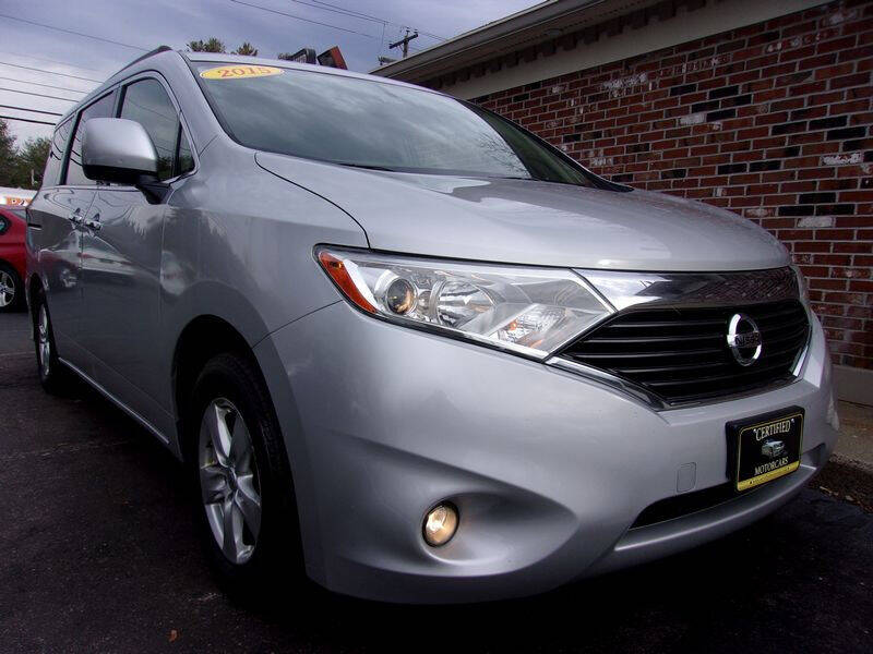 2015 Nissan Quest for sale at Certified Motorcars LLC in Franklin NH