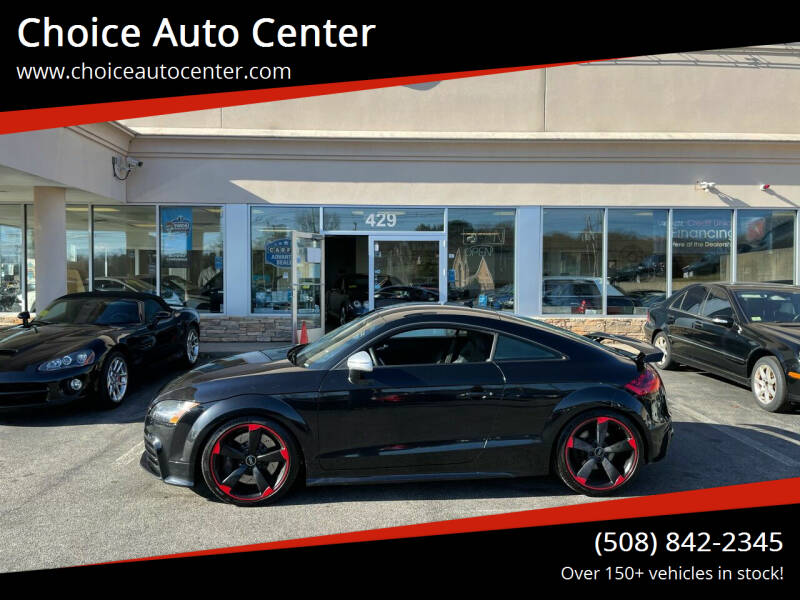 2013 Audi TT RS for sale at Choice Auto Center in Shrewsbury MA
