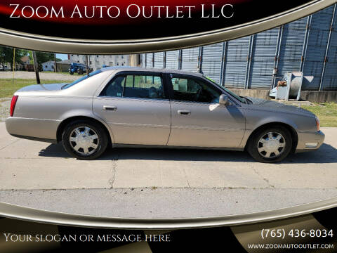 2004 Cadillac DeVille for sale at Zoom Auto Outlet LLC in Thorntown IN