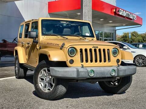 2013 Jeep Wrangler Unlimited for sale at Gravity Autos Roswell in Roswell GA