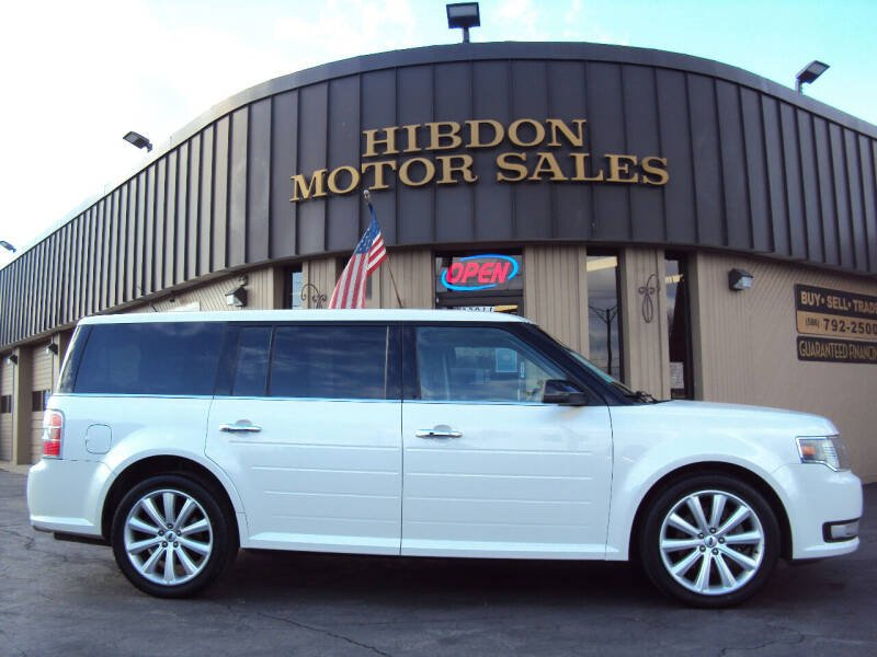 2015 Ford Flex for sale at Hibdon Motor Sales in Clinton Township MI