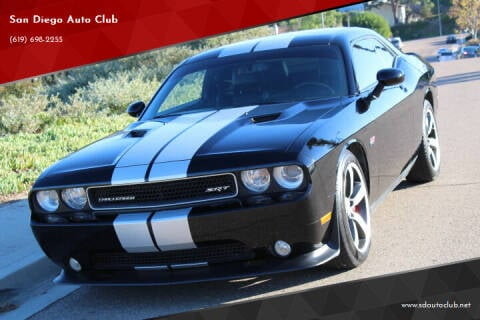 2012 Dodge Challenger for sale at San Diego Auto Club in Spring Valley CA
