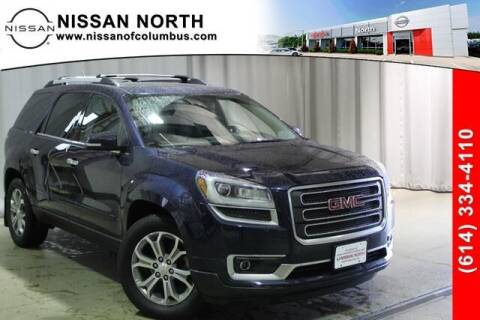 2015 GMC Acadia for sale at Auto Center of Columbus in Columbus OH