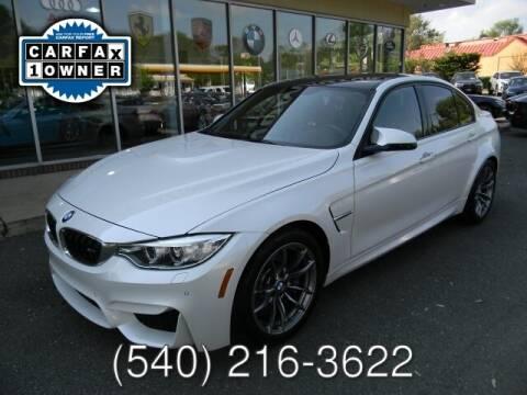 2015 BMW M3 for sale at Platinum Motorcars in Warrenton VA