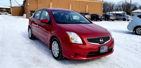 2012 Nissan Sentra for sale at Cleveland Avenue Autoworks in Columbus OH
