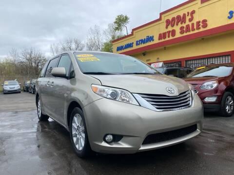 2015 Toyota Sienna for sale at Popas Auto Sales in Detroit MI