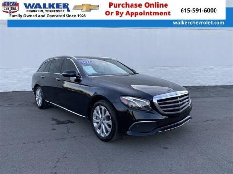 2017 Mercedes-Benz E-Class for sale at WALKER CHEVROLET in Franklin TN