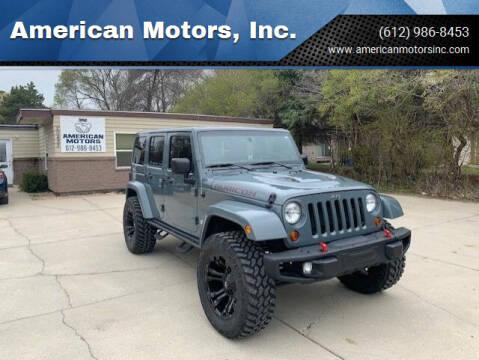 2013 Jeep Wrangler Unlimited for sale at American Motors, Inc. in Farmington MN