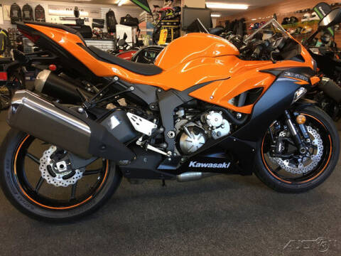 2020 Kawasaki Ninja ZX-6R for sale at ROUTE 3A MOTORS INC in North Chelmsford MA