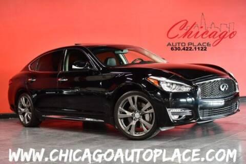 2018 Infiniti Q70L for sale at Chicago Auto Place in Bensenville IL