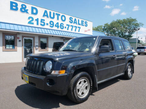 2009 Jeep Patriot for sale at B & D Auto Sales Inc. in Fairless Hills PA
