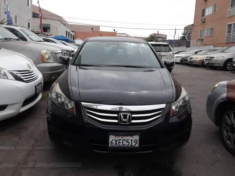 2012 Honda Accord for sale at Western Motors Inc in Los Angeles CA