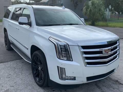 2016 Cadillac Escalade ESV for sale at Consumer Auto Credit in Tampa FL