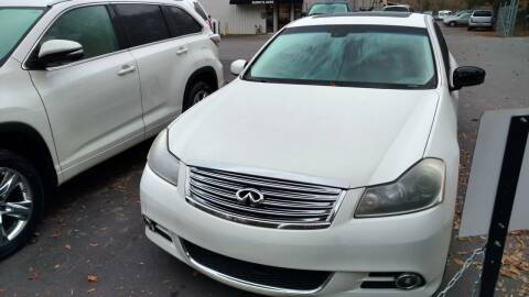 2010 Infiniti M35 for sale at Buddy's Auto Inc in Pendleton SC