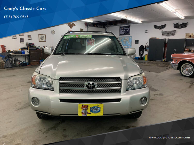 2007 Toyota Highlander Hybrid for sale at Cody's Classic Cars in Stanley WI
