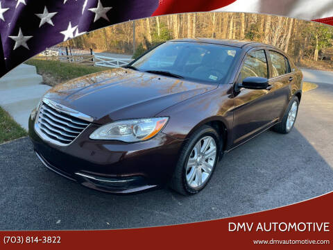 2013 Chrysler 200 for sale at DMV Automotive in Falls Church VA