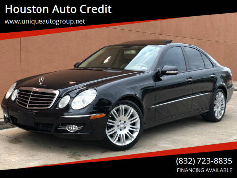 2008 Mercedes-Benz E-Class for sale at Houston Auto Credit in Houston TX