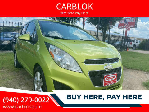 2014 Chevrolet Spark for sale at CARBLOK in Lewisville TX