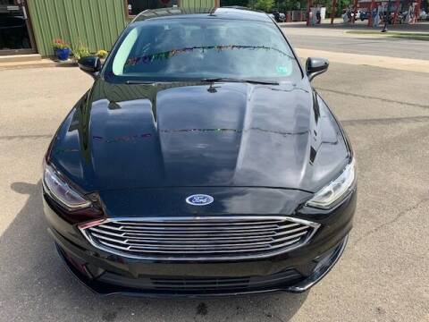 2018 Ford Fusion for sale at MEANS SALES & SERVICE in Warren PA
