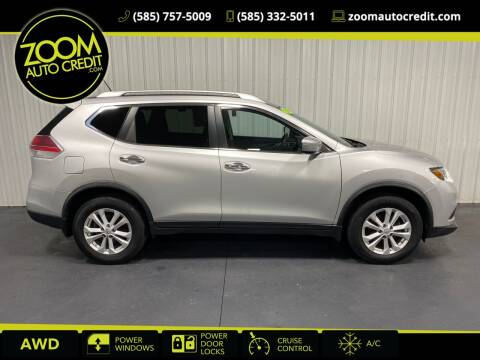 2015 Nissan Rogue for sale at ZoomAutoCredit.com in Elba NY
