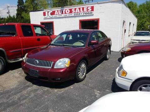 2007 Mercury Montego for sale at JC Auto Sales Inc in Belleville IL