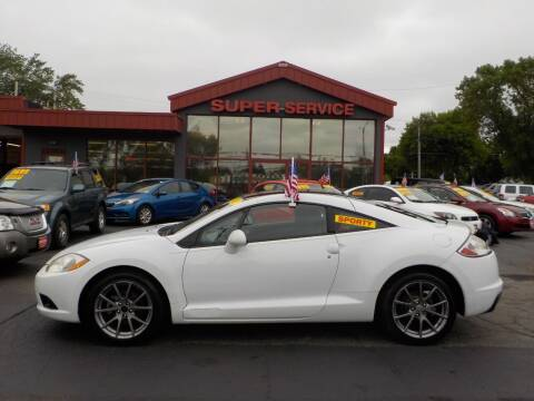 2011 Mitsubishi Eclipse for sale at Super Service Used Cars in Milwaukee WI