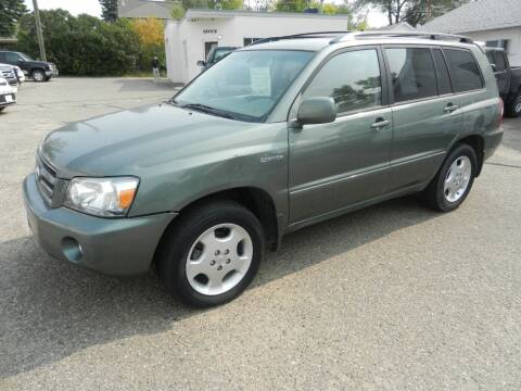 2004 Toyota Highlander for sale at Affordable Motors in Jamestown ND