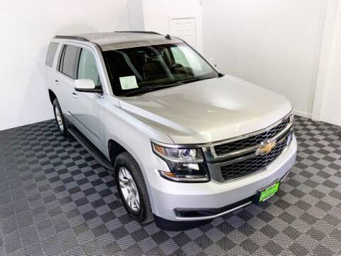 2015 Chevrolet Tahoe for sale at Sunset Auto Wholesale in Tacoma WA