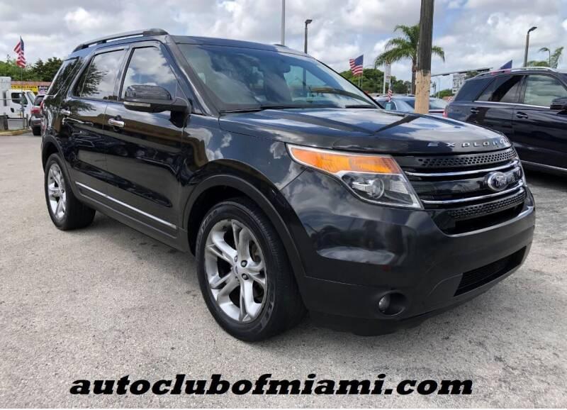 2013 Ford Explorer for sale at AUTO CLUB OF MIAMI in Miami FL