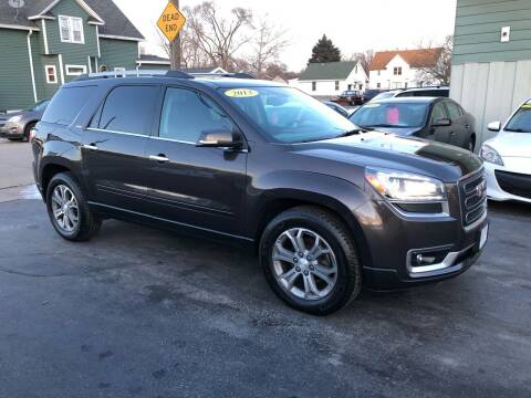 2013 GMC Acadia for sale at SHEFFIELD MOTORS INC in Kenosha WI