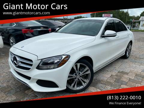 2016 Mercedes-Benz C-Class for sale at Giant Motor Cars in Tampa FL