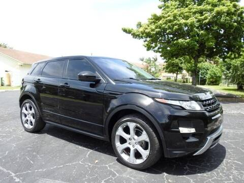 2014 Land Rover Range Rover Evoque for sale at SUPER DEAL MOTORS 441 in Hollywood FL